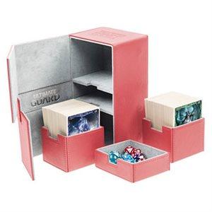 Deck Box: Twin Flip N Tray Xenoskin 200 Red