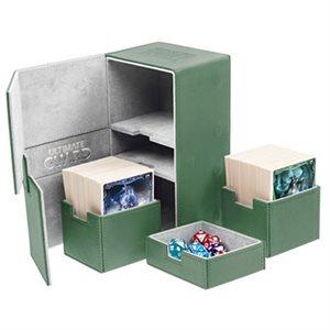 Deck Box: Twin Flip N Tray Xenoskin 200 Green
