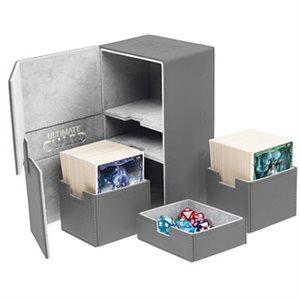 Deck Box: Twin Flip N Tray Xenoskin 200 Grey