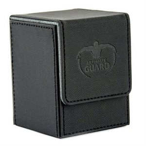 Deck Box: Flip Deck Case Xenoskin 100 Black