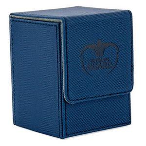 Deck Box: Flip Deck Case Xenoskin 100 Blue