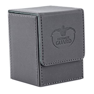 Deck Box: Flip Deck Case Xenoskin 100 Grey