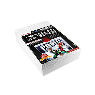 Comic Backing Boards Silver (100)
