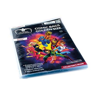 Comic Bags Golden (100)