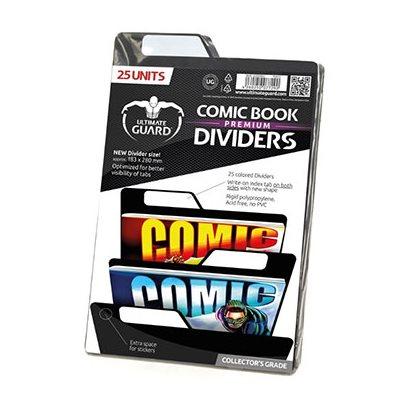 Comic Dividers Black (25)