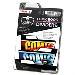 Comic Dividers Black (25)