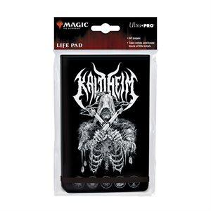 Life Pad: Magic: The Gathering: Kaldheim Metal Alt Art ^ JAN 2021