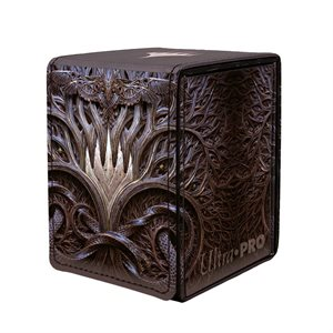 Deck Box: Magic: The Gathering: Kaldheim Stylized PW Symbol Alcove Flip Box (100ct) ^ JAN 2021