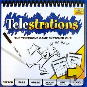 Telestrations® 8 Player - The Original (No Amazon Sales)