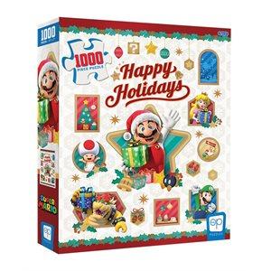 """Puzzle: 1000 Super Mario """"Happy Holidays"""" (No Amazon Sales) ^ Q3 2021"""
