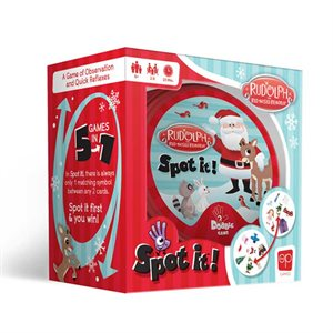 Spot It: Rudolph the Red-Nosed Reindeer (No Amazon Sales)