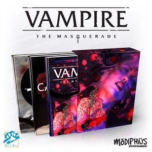 Vampire: The Masquerade 5th Ed: Slipcase Set (BOOK)
