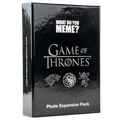 What Do You Meme: Game of Thrones Expansion (No Amazon Sales)