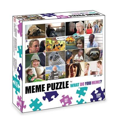 What Do You Meme: Puzzle: Grid (No Amazon Sales)