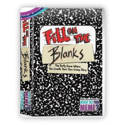 Fill In The Blanks (No Amazon Sales) ^ OCT 1 2020