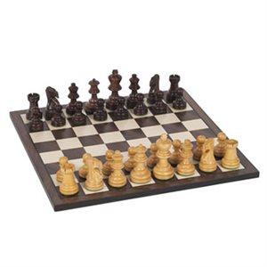 """Chess 12"""" Sheesham And Kari Wood"""