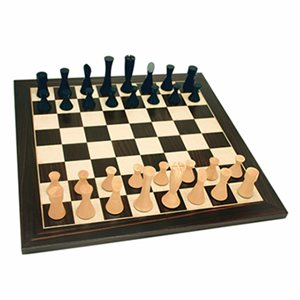 """Modern Style Chess Checkers 19"""" Set"""