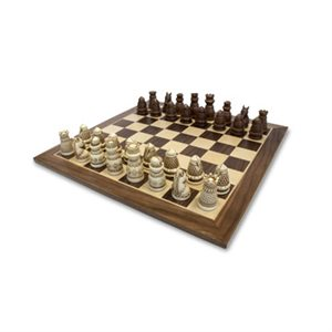 """Chess 15"""" Medieval Brown"""