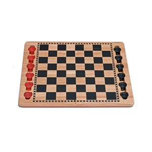 """Checkers 14"""" Red And Black"""