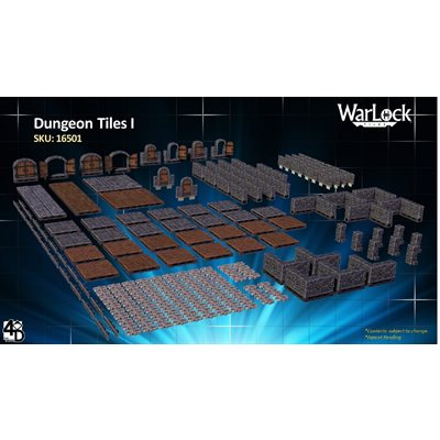 Dungeons & Dragons: Warlock Tiles Dungeon Tiles I ^ JUN 2020