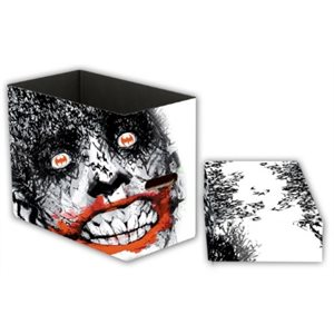 DC Comics Short Comic Book Storage Box - Joker Bats