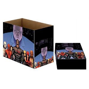 Marvel Short Comic Book Storage Box Defenders Team