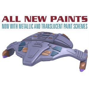 Star Trek Attack Wing - Wave 31 - 15th Wing Patrol Ship Expansion Pack REPAINT