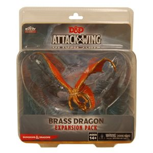 D&D Attack Wing Wave Eight Brass Dragon Expansion Pack