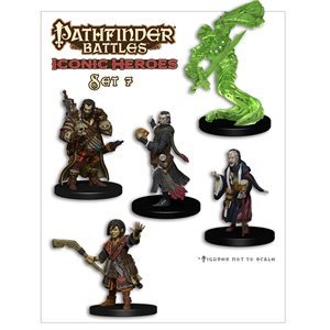 Pathfinder Battles Minis: Iconic Heroes Box Set 7