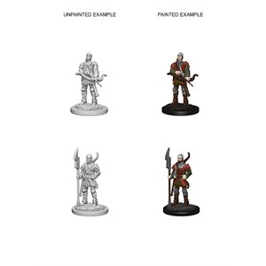 Pathfinder Deep Cuts Unpainted Miniatures: Wave 4: Town Guards
