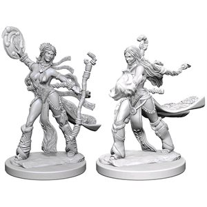Pathfinder Deep Cuts Unpainted Miniatures: Wave 1: Human Female Sorcerer
