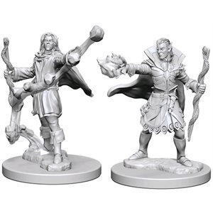 Pathfinder Deep Cuts Unpainted Miniatures: Wave 1: Elf Male Sorcerer