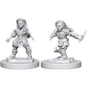 D&D Nolzurs Marvelous Unpainted Miniatures: Wave 1: Halfling Female Rogue