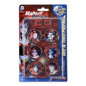 DC HeroClix: Harley Quinn and the Gotham Girls Dice and Token Pack