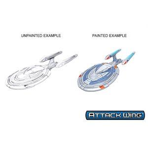 Star Trek Unpainted Ships - Sovereign Class