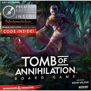 Dungeons & Dragons: Tomb of Annihilation Adventure System Board Game Premium Edition