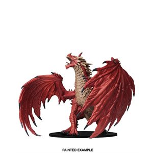Pathfinder Battles Deep Cuts Unpainted Miniatures: Gargantuan Red Dragon