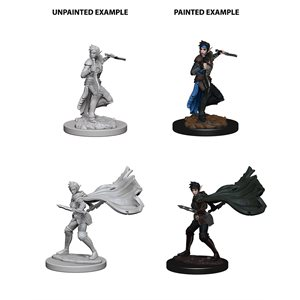 Pathfinder Deep Cuts Unpainted Miniatures: Wave 4: Elf Female Rogue