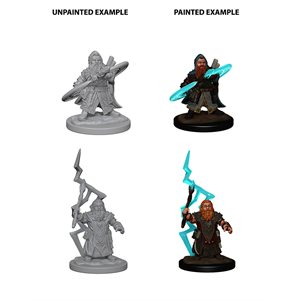 Pathfinder Deep Cuts Unpainted Miniatures: Wave 4: Dwarf Male Sorcerer