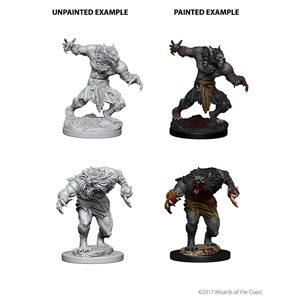 D&D Nolzurs Marvelous Unpainted Miniatures: Wave 4: Werewolves