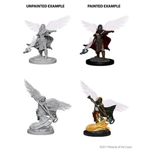 D&D Nolzurs Marvelous Unpainted Miniatures: Wave 4: Aasimar Female Wizard
