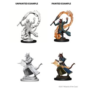 D&D Nolzurs Marvelous Unpainted Miniatures: Wave 4: Tiefling Male Sorcerer