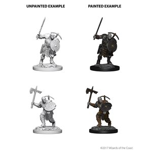 D&D Nolzurs Marvelous Unpainted Miniatures: Wave 4: Earth Genasi Male Fighter