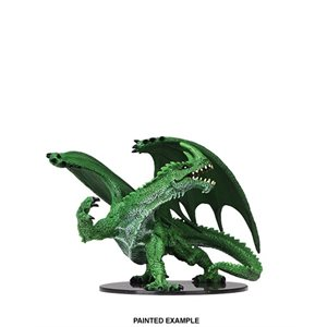 Pathfinder Battles Deep Cuts Unpainted Miniatures: Wave 6: Gargantuan Green Dragon