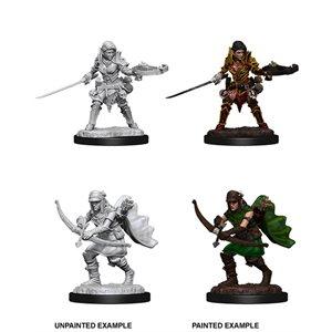 Pathfinder Battles Deep Cuts Unpainted Miniatures: Wave 7: Half-Elf Female Ranger
