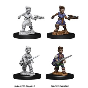 Pathfinder Deep Cuts Unpainted Miniatures: Wave 8: Female Halfling Rogue
