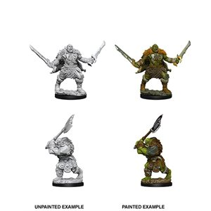Pathfinder Deep Cuts Unpainted Miniatures: Wave 8: Orcs