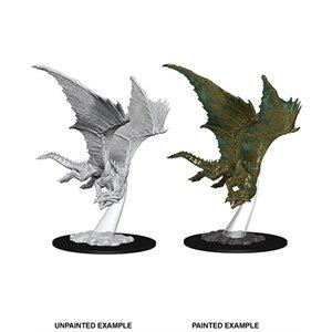 D&D Nolzurs Marvelous Unpainted Miniatures: Wave 9: Young Bronze Dragon ^ Aug 14, 2019