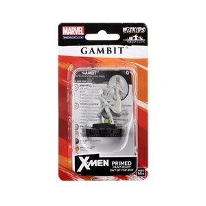 Marvel HeroClix Deep Cuts Unpainted Miniatures: Gambit ^ JUN 24, 2020