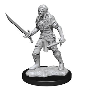 Pathfinder Deep Cuts Unpainted Miniatures: Wave 13: Elf Fighter Male